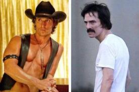 Matthew McConaughey revela cómo bajó 23 kilos para grabar filme