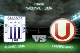 Colecta se realizará durante el clásico Universitario vs Alianza Lima