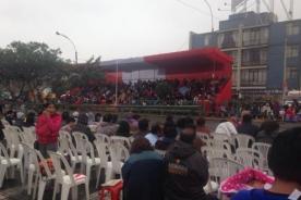 Peruanos se preparan para presenciar la Parada Militar [Fotos]
