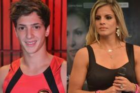 Combate: Alejandra Baigorria engríe al 'Pibe' Lucas así - VIDEO