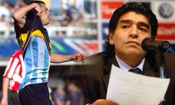 Maradona: El que la rompió fue Riquelme