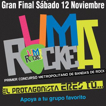 Lima Rockea: Primer Concurso Metropolitano de Bandas de Rock