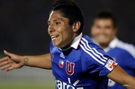 Raúl Ruidíaz marcó su primer gol con la U. de Chile
