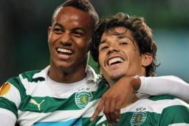 André Carrillo anota en el triunfo del Sporting de Lisboa - Video