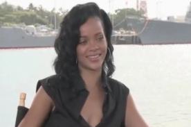 Rihanna sobre su debut en Battleship: Fue una de las mejores experiencias
