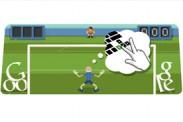 Fútbol Londres 2012: Doodle de Google te desafía a tapar penales