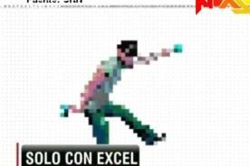 Video: Usuario crea videoclip musical con hojas de Excel