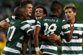 Video: André Carrillo anota golazo en triunfo del Sporting Lisboa