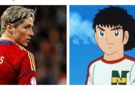 Fernando Torres y su anhelo de convertirse en Oliver Atom