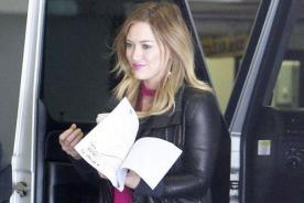 Hilary Duff se está preparando para regresar a la actuación
