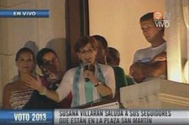 Mónica Sánchez y Christian Thorsen celebraron junto a Susana Villarán