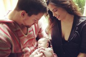 Channing Tatum mostró a su hija en el Día del Padre