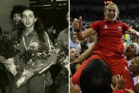 Natalia Málaga: Que mis jugadoras se coronen con más medallas que yo - Video