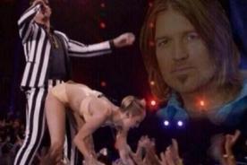 VMA: Tuiteros culpan a Billy Ray Cyrus por conducta de Miley Cyrus