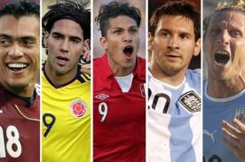 Eliminatorias Brasil 2014: Programación de la fecha 15