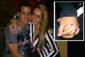 Christian Domínguez es captado junto a misteriosa rubia
