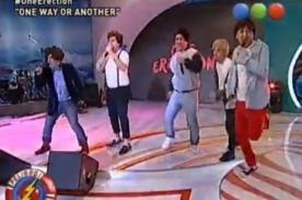One Erection: Argentinos parodian a One Direction - Video