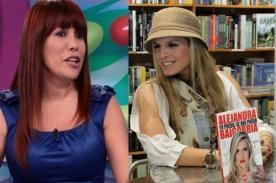 Alejandra Baigorria responde a las críticas de Magaly Medina