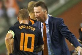 Van Gaal: Wesley Sneijder quiere ir al Chelsea para jugar con Mourinho