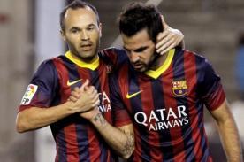 Video: Barcelona venció 4-0 a Granada sin Lionel Messi - Liga BBVA
