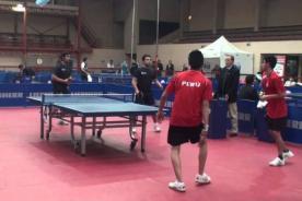 Juegos Bolivarianos 2013: Perú destacó en la disciplina tenis de mesa - Video