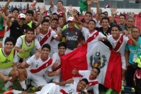 Perú campeonó en el Sudamericano Sub 15 tras vencer 1-0 a Colombia
