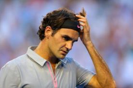 Foto: Roger Federer y su extravagante look cuando tenía 17 años