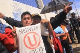 Play Off 2013: Hinchas de Universitario cometen asaltos en La Oroya
