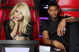 Shakira y Usher volverán a 'The Voice'