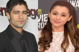 Ariana Grande estaría saliendo con el sexy actor Adrian Grenier