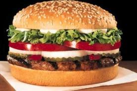 Insólito: Hombre logra perder 16 kilos comiendo MCDonald's a diario