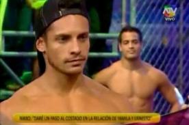 Combate: Ernesto Jiménez y Nikko Ponce hicieron las paces en vivo - Video