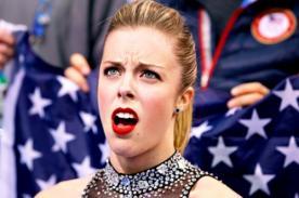 Sochi 2014: Patinadora genera 'memes' por graciosa mueca