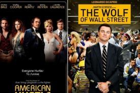 'American Hustle' y 'El Lobo de Wall Street': Favoritas de los MTV Movie Awards