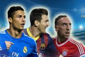 Champions League: Conoce la programación de los cuartos de final