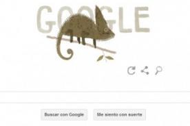 Google celebra el Día de la Tierra 2014 con el camaleón velado