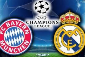 Champions League: Real Madrid vs. Bayern Munich (4-0) video de goles