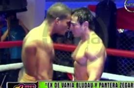 Ex de Vania Bludau y 'Pantera' Zegarra se enfrentan en ring - Video