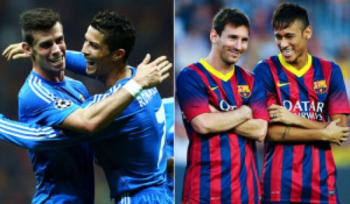 Sorpréndete con los desmedidos sueldos de los jugadores del Real Madrid y el Barcelona