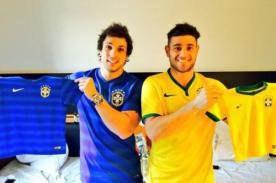 EEG: Yaco Eskenazi y Nicola Porcella en el Mundial Brasil 2014 [FOTOS]