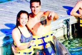 ¿Otra vez enamorados? Gino Assereto y Jazmín Pinedo no ocultan su felicidad en esta foto