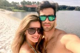 Alejandra Baigorria y Guty Carrera disfrutan su amor en la playa - FOTOS