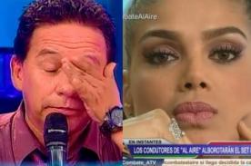 ¿Vanessa Jerí solo perdonará a Ricardo Rondón si se arrodilla?