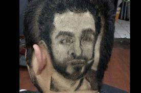 ESTO ES DEMASIADO: ¡Fan se hace corte con rostro de Peluchín! - FOTO