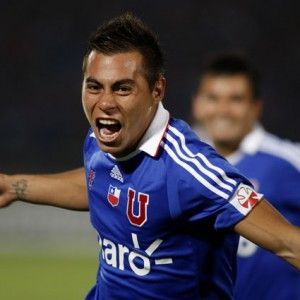 Eduardo Vargas fue elegido el mejor jugador de Chile en el 2011