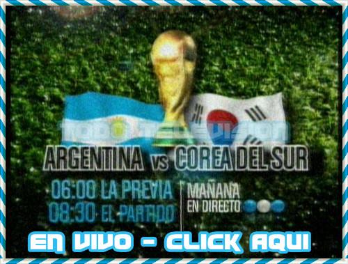 Argentina vs Corea del Sur: Goles del partido En Vivo