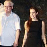 Angelina Jolie se reúne con el presidente de Croacia