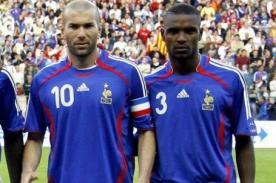 Zinedine Zidane: Es una pelea difícil pero Abidal saldrá victorioso