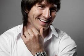 Lionel Messi con nueva línea de relojes