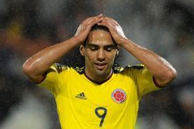 Colombia: Radamel Falcao es duda ante Perú por lesión